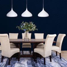 Form and function are at the heart of the Hamilton Dining Set. Featuring a solid Saligna frame with a veneer top, family-friendly upholstered dining chairs and a matching server – the Hamilton Dining Set will be the shining star in your dining room. Shop the Hamilton Dining Set in stores or online now at Leather Gallery .