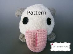 Poro Plush Pattern, Poro Amigurumi Pattern, Poro Crochet Toy Pattern, League of Legends Plush Pattern