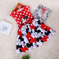 Aliexpress.com: Compre 2015 nova vestidos de Minnie Mouse roupas de bebê Casual vestido de Roupa Infantil Feminina para fantasias de confiança Vestidos fornecedores em Lulu's Baby Star