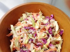 Hawaiian Coleslaw with Pineapple-replace mayo with Hampton Creek Mayo from Whole Foods