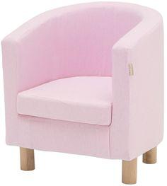Hoppekids Klädsel till Clubfåtölj Light Pink