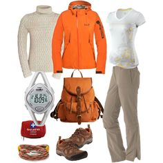 hiking set..for those who love mountains, created by zoltan-l on Polyvore