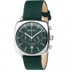 Clubmaster Vintage Steel Chronograph Navy blue matt dial Sport Chic, Retro Look, Vintage Watches, Luxury Watches, Bracelets, Bracelet Watch, Steel, Gray