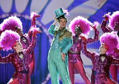 Gavin Lee and the cast of Spongebob Squarepants: The Musical perform onstage at Radio City Music Hall. Broadway Theatre, Musical Theatre, Mikhail Baryshnikov, Radio City Music Hall, Singing Happy Birthday, Theatre Nerds, Spongebob Squarepants, Girl Problems, The Little Mermaid