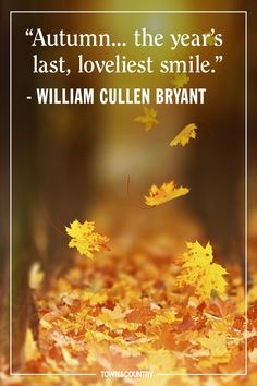 12 Inspiring Fall Quotes - Best Quotes and Sayings About Autumn