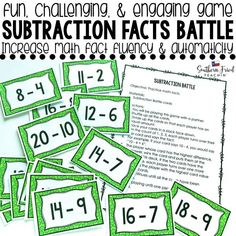 Subtraction Battle i