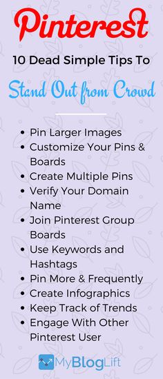 10 Amazing Pinterest Marketing Tips to Grow Your Brand on Pinterest.  After applying these 10 dead simple Pinterest Marketing tips you will see hundreds of re-pins and followers flocking around your Pinterest profile.