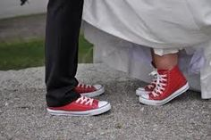 cool groom's shoes
