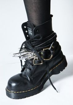 doc martens dummydoll- they just kinda look cool. I would never wear them regularly but that's just me right now...