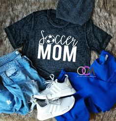 Soccer Mom Shirt, Soccer Goal Digger, Proud Soccer Mom, Shirts for Soccer Moms, Custom Soccer Shirts, Soccer Mama Shirt by 1OneCraftyMomma on Etsy