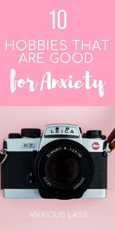 10 Hobbies That Are Good For Anxiety Deal With Anxiety, Anxiety Tips, Anxiety Help, Stress And Anxiety, Overcoming Anxiety, Social Anxiety Quotes, Calming Anxiety, Anxiety Facts
