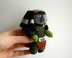 Crochet Amigurumi Doll: the Predator by tinyAlchemy.deviantart.com on @DeviantArt