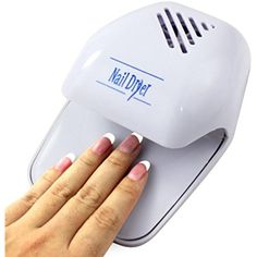 Gotd Nail Art Polish Paints Dryer Portable Hand Finger Toe Blower Mini Tool White >>> Click image to review more details. (This is an affiliate link) #BagsCases