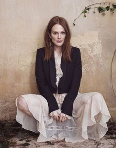 Julianne Moore for The Edit by Sebastian Kim