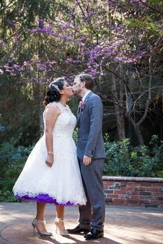 Alex and Paul had their super cute first look in Brisa Courtyard at Disney's Grand Californian Hotel!