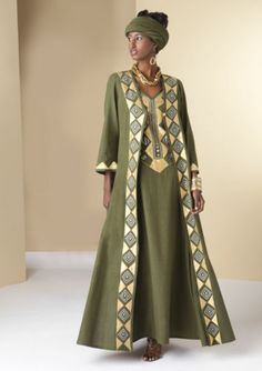 Makeda Jacket Dress from ASHRO