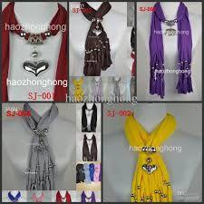 diy scarf jewelry - Google Search