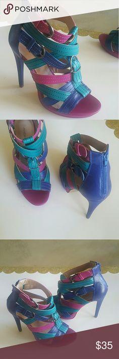 95c9fb37 Zapatos Andrea size 9 Zapatos Andrea seminuevos de una puesta muy bonitos  tacon alto 12 size 9 seminuevos Shoes Heels