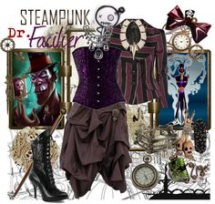 """Steampunk: Dr. Facilier"" by ghsdrummajor on Polyvore"