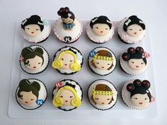 Harajuku Lovers cupcakes