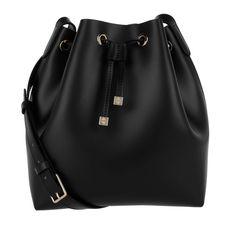 0fa92548f181b Wir haben Coccinelle Tasche - Ariel Calf Bucket Bag Nero - in schwarz -  Umhängetasche für