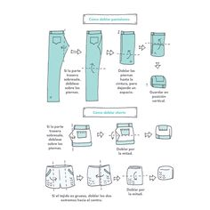 Cómo-doblar-pantalones-Marie Kondo