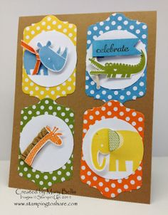 Stamping to Share: May Stamping to Share Demo Meeting Swaps: For the Kids!
