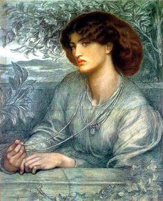 Aurea Catena by Dante Gabriel Rossetti