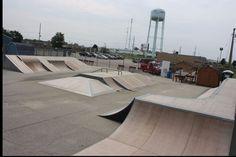 Skate Park, Sidewalk, Exterior, Urban, City, Side Walkway, Walkway, Cities, Outdoor Rooms