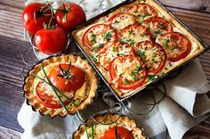 Tomato Tart Recipe • Whipperberry