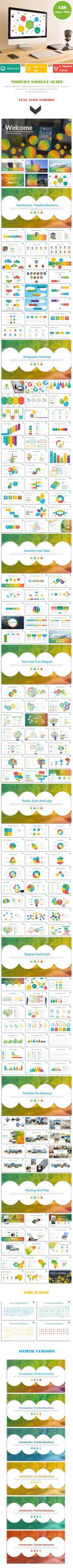 Modern google slide business presentation template for report and plan. Download here: http://graphicriver.net/item/modern-google-slide-business-presentation-template-for-report-and-plan/16262014?ref=ksioks