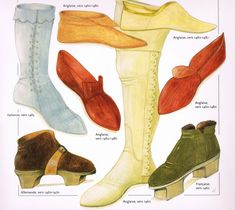 "1460-1480-""Chaussures""-John Peacock"