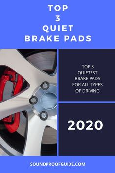 There is nothing worse when driving than having very loud brake pads. Sure, a person wants amazing performance, the ability to stop without any issues… Brakes Car, Car Sounds, Sound Proofing, Brake Pads, Vehicle, Marketing, Cars, Vehicles, Autos