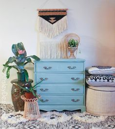 It's been so cold and rainy here in the PNW. It is gumbo weather for sure. I loooove gumbo, and my sister makes the best. Mint Green, Furniture, Painted Furniture, French Provincial Dresser, Refinishing Furniture, Affordable Home Decor, Vintage Furniture, Dresser, Dresser As Nightstand
