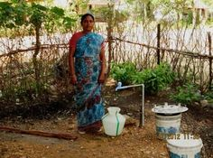 Breathing Easier in India - Mrs. Thangaponnu suffers from asthma and was having a hard time fetching water. She needed her children to miss school in order to collect water for the family. Happily, this has all changed. http://water.org/post/breathing-easier-india/