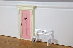 Feen-und Elfen Holzbank Weiß The Magic Door Store   Heldenkind