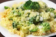 Receita de Parafuso com brócolis em receitas de massas, veja essa e outras receitas aqui!