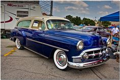 1953 Chevrolet Nomad Station Wagon....two door!