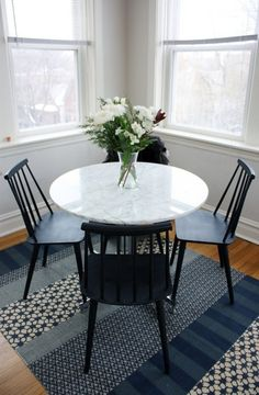 Tulip Table Chair Upgrade by alison giese Interiors | design ...