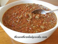 Maple Baked Beans With Sausage