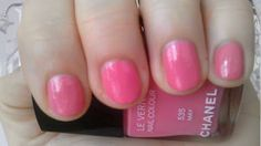 "Chanel nail polish ""May"" (no 535). I <3 this color, it is so pretty!"