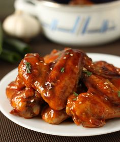 "Perfect for the game! // ""Baked Sriracha Chicken Wings"" 
