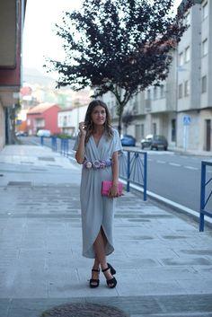 Grey dress | The Desire