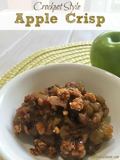 Apple crisp recipe f