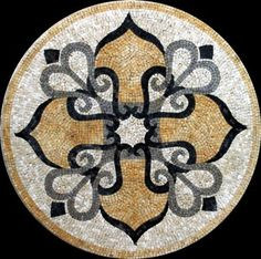 We are Luxury Handmade marble mosaic medallion tiles manufacturer. Marble Art, Marble Mosaic, Stone Mosaic, Mosaic Glass, Mosaic Tiles, Mosaic Floors, Mosaic Tile Designs, Mosaic Patterns, Paver Designs
