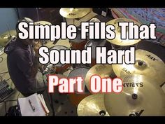 5 Simple Rock Drum Fills for the Beginning Drummer - Easy Drum Lesson - How to Play Drums - YouTube