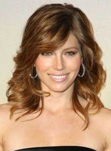 Medium Celebrity Hairstyles: Let The Aura Come Out With Brilliant Artistry  | IdeasKu | Hair Tips | Pinterest | Bangs Wavy Hair, Medium Hairstyle And  Wavy ...