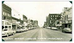 Old Miami, Oklahoma, Main Street