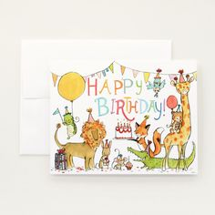 "Did you know the ""Happy Birthday to You"" song is the most frequently sung out-of-tune song in the history of birthdays? - 4.25"" x 5.5"" greeting card - blank interior - white envelope - printed with ve"