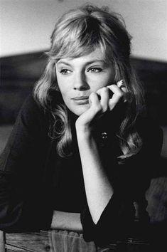 Portrait de l'actrice Jacqueline Bisset du photographe italien Tazio Secchiaroli